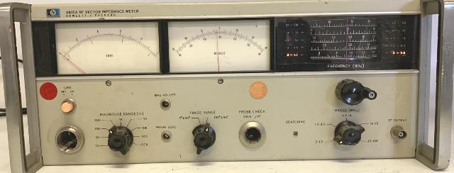 HP Hewlett Packard 4815A RF Vector Impedance Meter