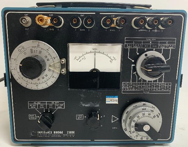 ESI Electro Scientific Industries 250DE Impedance Bridge