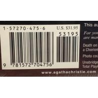 Agatha Christie Death on the Nile audiobook NEW Sealed 7 CD's Hercule Poirot Mystery
