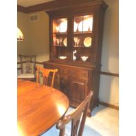 Bob Timberlake Cherry Dining Table chairs Hutch * Can Deliver! *