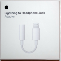 Apple Lightning to 3.5mm Headphone Jack Adapter A1749 for iPhone 7 8 Plus & X