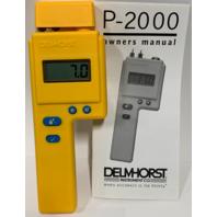 Delmhorst P-2000 CS3 P-2000 Digital Moisture Meter with Compact Case