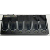 Itech PSION teklogix HU3006 1917083 6 Gang Charger 7530G2 7535G2