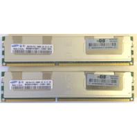 Lot of 2  - 8gb 2Rx4 PC3-10600R Samsung M393B1K70BH1-CH9Q1 500205-071