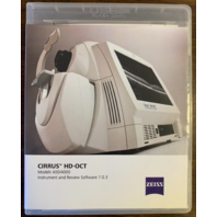 Cirrus HD-OCT 400/4000 Instrument and Review Software Ver 7.0.3