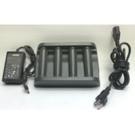 MOTOROLA SYMBOL SAC4000-4000CR CHARGER W/4 BATTERIES