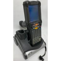 Symbol Motorola MC9090-G Bar Code Scanner PDA w/ CRD9000-1001SR CRD9000-1001 Cradle Charger Docking station