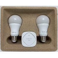 Belkin Wemo LED Lighting Starter Set - Smart Home Kit - Smart Light Bulbs F5Z0489