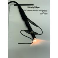 Welch Allyn 4.7 Volt 78810 Complete KleenSpec Corded Vaginal Illumination System