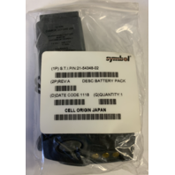 NEW Genuine Battery For Symbol 21-54348-02 REV B 29APR11 2400mAh 7.4V PDT6800