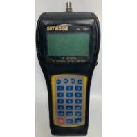 Satvision SM-9801 TV Signal Level Meter w/Case