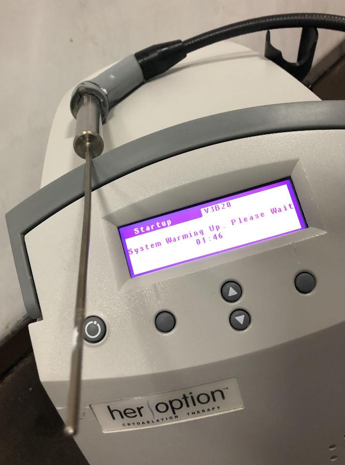 Ams American Medical Systems Her Option Cg 1 Cryoblation