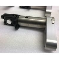 Newport HVM-.5 Vertical Drive Kinematic Mirror Mount 0.05 Top Adjustable Lab Optics