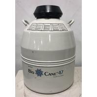 Thermolyne Bio Cane 47 Liquid Nitrogen Dewar Cryogenics Canister #10743351