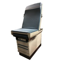 Ritter Midmark 404 Medical Patient  Exam Table w/ Stirrups 404-005