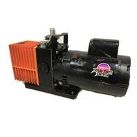 Alcatel 2004A Dual Stage rotary Pump w/ Franklin 1102685400 Motor