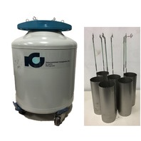 International Cryogenics IC 38 RX Liquid Nitrogen Dewar 38L  with Dippers