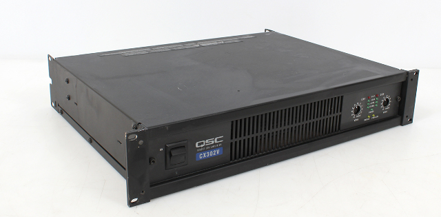 QSC CX302V 2-Channel 70V Power Amplifier 300W