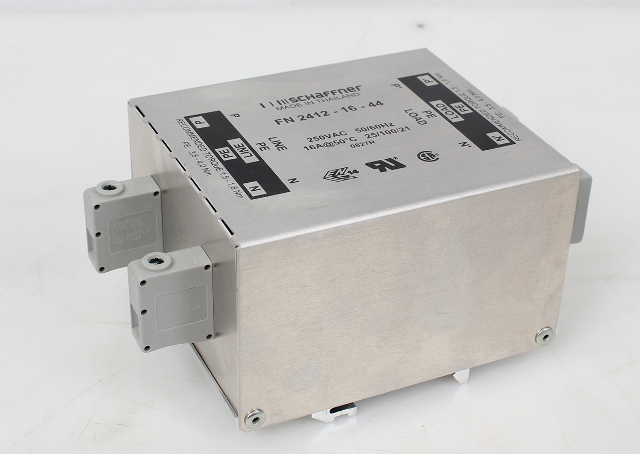Schaffner Power Line Filter FN2412-16-44 FN24121644 250VAC