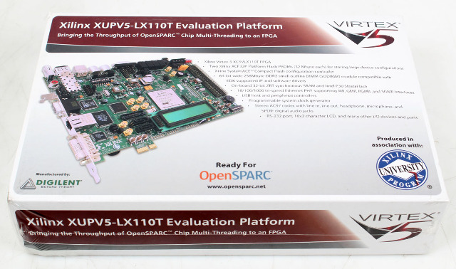 Xilinx XUPV5-LX110T Evaluation Platform Virtex-5: Digilent ML509 -New  Sealed-