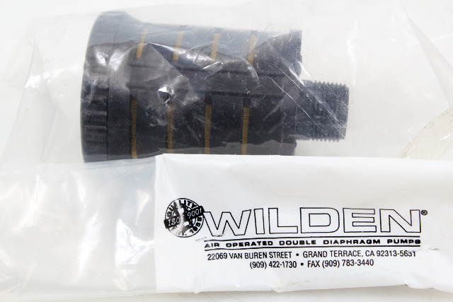 "Wilden 3/4"" Muffler for P4/M4 1.5"" Diaphragm Pumps, 04-3510-99"