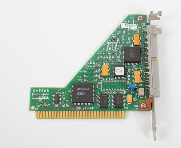 National Instruments NI PC-DIO-24/PnP  24-bit Digital I/O Board for ISA Computers