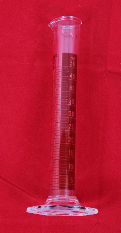 Kimble 20024-D-50 KIMAX 50mL Class B Glass Graduated Cylinder