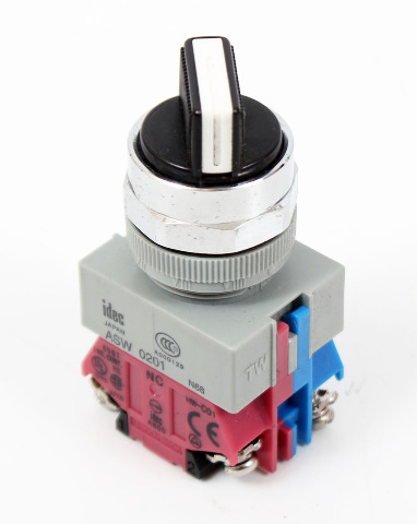 IDEC ASW211 Rotary Switch - 2 Position, 2 Pole | 90°, 10A, 600V - TW Series