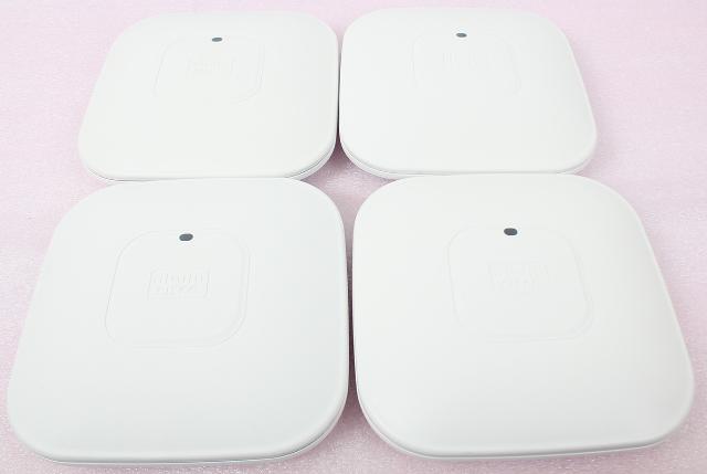 Lot of 4 CISCO Aironet 2600 Series AIR-CAP2602I-A-K9 Dual-band Access Point