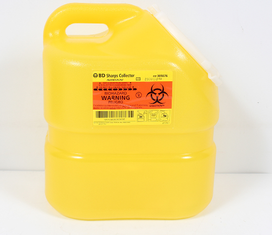 1-1//2 H x 8 W Accuform SHRPK451SSB Self-Stick/ÁCIDO CLORH/ÍDRICO Pipe Marker for 1-1//2 to 2 OD Pipe Black on Yellow