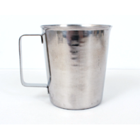 Graduated Stainless Steel NSF Measuring Cups 1qt, 32oz, 1000cc, SH-522