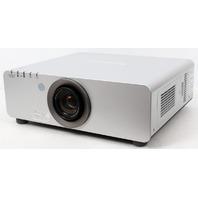 Panasonic PT-D6000US DLP HD Cinema Projector 6500 Lumens w/ Remote -563 Lamp Hrs