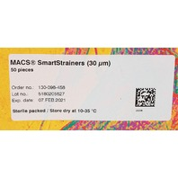 Lot of 48 Miltenyi Biotec MACS SmartStrainers (30 um) 130-098-458