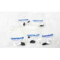 Lot of 5 Switchcraft/ Conxall 16282-2SG-311 2-Way Micro-Con-X  Connector