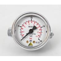 """Peak 2"""" EN837-1 200 PSI Pressure Gauge with Mounting Bracket"""