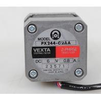 Vexta Orental Motor Co PX244-02AA Stepper Motor 2-Phase 1.8 Deg/ Step 6V/ 0.8 A