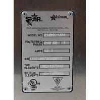 Star 210HX Stainless Steel Countertop Miniveyor Conveyor Oven 210HX -V04 240V