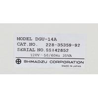Shimadzu DGU-14A Degasser 228-35359-92