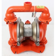 """Wilden M4 Series Double Diaphragm Metal Pump 1.75"""" Inlet, 1.5"""" Outlet, New"""