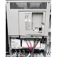 Yaskawa Varispeed E7 50HP Variable Frequency Drive CIMR-E7U4030 + Loaded Cabinet