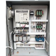 Yaskawa Varispeed E7 50HP Variable Frequency Drive CIMR-E7U4030 + Loaded Cabinet ST0036172