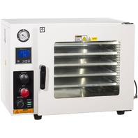 AI AccuTemp-19T Vacuum Oven w/ LED Illumination, 5 Shelves, 9 CFM Pump TURN-KEY!