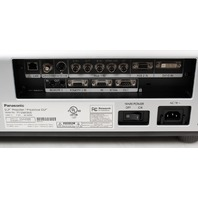 Panasonic PT-D6000US DLP HD Cinema Projector 6500 Lumens -Clean-