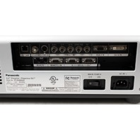 Panasonic PT-D6000US DLP HD Cinema Projector 6500 Lumens, New Bulbs!