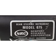 "Newport Large Diameter 675 Precision Beam Steerer Periscope Mount with 14"" Base"