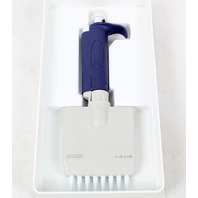 Rainin L8-20 Pipet-Lite Multichannel 8-Channel Pipette, 2-20 μl, For LTS Tips