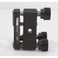 "Thorlabs KS1 1"" Precision Kinematic Mirror Mount, 3 Adjusters w/ Mirror"