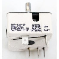 Robertshaw INF-120-85 Electric Infinite Control Switch 120V 15A - Model 5502-302
