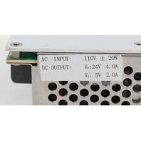 Hengfu 100W Dual Output Power Supply 24VDC 4.0A 5VDC 2.0A HF100W-DF
