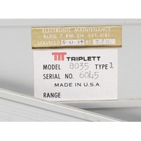 Triplett Model 8035 Type 1 Digital VOM Digital Multimeter